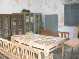 Library hall , College Of Education, Baspa